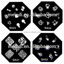 MELODI nail art stamping plates stamper nail art