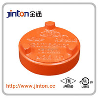 FM UL ULC ductile iron sand casting pipe blind and blind pipe cap