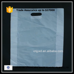 die cut plastic shopping bag for promotion