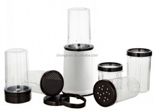 Electric Hot sale high quality plastic food blender and food mixer with cups