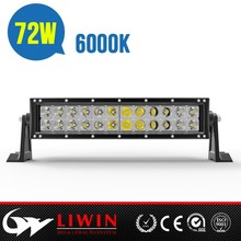 LW higher quality 50% off curved 10-30v 72w led work light bar for car ipsum