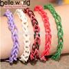 NEW Elastic Loom Rubber Band Rainbow Bracelets