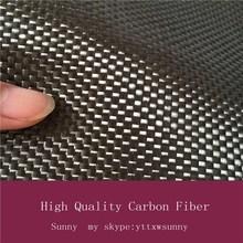 Factory direct hot sale 3k 6k 12k carbon fabric twill/plain weave style