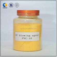 PVC slipper/sole ac blowing agent