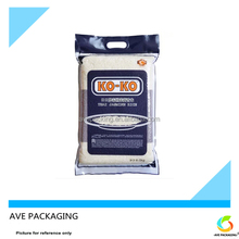 Plastic bags color printing packaging bags plastic packaging for rice