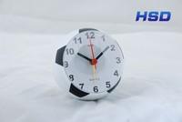HSD Promotional Football Table Alarm Clock Football Time Clock