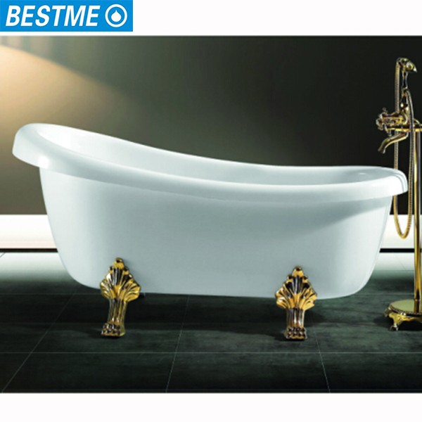 Gold Color Clawfoot Tub Cheap,Claw Feet Bathtub With Lion Feet - Buy ...