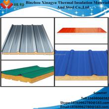 Poliuretano tablero de emparedado fría habitaciones congelador paneles de pared