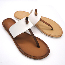 beaded 2014 the new style ladies flat dress sandals in flip flops