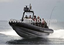 Rigid Inflatable Boat (RIB).