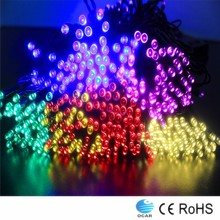 new design newest christmas led lights rice shaped bulbs