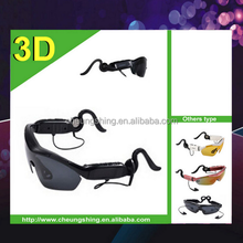 2015 new factory wholesale USB charge stereo bluetooth sunglasses MP3 player for mobile phone