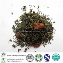 cream strawberry green tea blended tea flavor tea