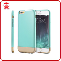 New Trendy Slim Thin Flamless Hard Two Piece Seamless Detachable Sliding Case for Iphone 6