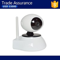 P2P(Plug and Play) HD 32GB SD card, two-way audio,Wireless,remote internet viewing,motion detection PT IP Camera
