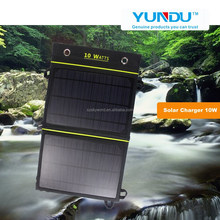 2015 Power Bank Flexible foldable 10W solar charger solar mobile phone accessories charger for iphone solar panel