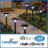 2015 new design solar led garden lights series solar outdoor lamp