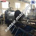 Aço reforçado 300-3000mm hdpe tubulação do enrolamento da linha de produção