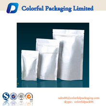 2015 Clear aluminum foil packaging bags / standup pouch for food