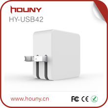 USB42 HOUNY Portable Mobile phone power bank charger/universal travel easy adapter