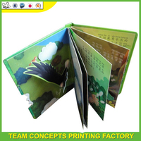 3D effect story activity book for childs
