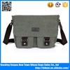 Designed for men and women korean vintage style canvas messenger bag