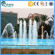 SS304 outdoor music water fountain garden stone products