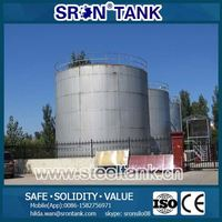 Customized Round Steel Tanks for Oil Safety Storage For Sale