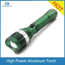 Hot High Power zoomer Rotate Focus Led Light Aluminum Zoom Torch