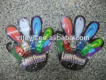 flashing finger lights,plastic flashing finger,led Laser flashing finger lights