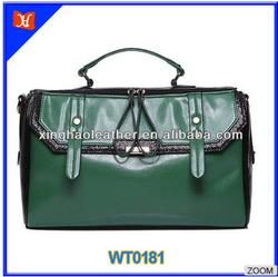 British style women messenger bags pu waterproof messenger bag stylish casual messenger bag leather