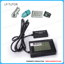 GPS lap timer, fastest 10HZ chip, 3D sensors, fits all curcuit outdoor timing cars, motorcycle, dirtbikes, bicycles, Go-Cart
