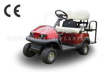 2013 nuevo NEV 4 plazas carrito de golf inteligente (AX-D2+2) con control curtis, motor de corriente continua
