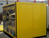 10ft flat-packed container storage to be mobile tool