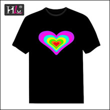 Trending hot products 2015 china Manufacturers el panel t-shirt craft for promotion