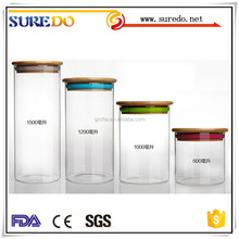 Silicon Cap Seal Glassware Glass Jar Container glass candy jar