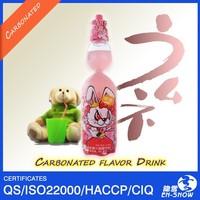 Private Label Lemon Marble Soda Drink in Codd-Neck Bottle