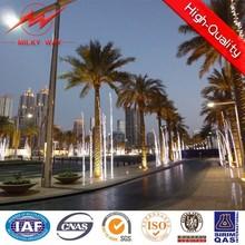 Luz de rua de energia de energia solar residencial pólo
