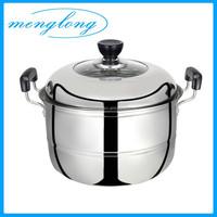 Factory Price Stainless Steel Steam Pot Idli Steamer