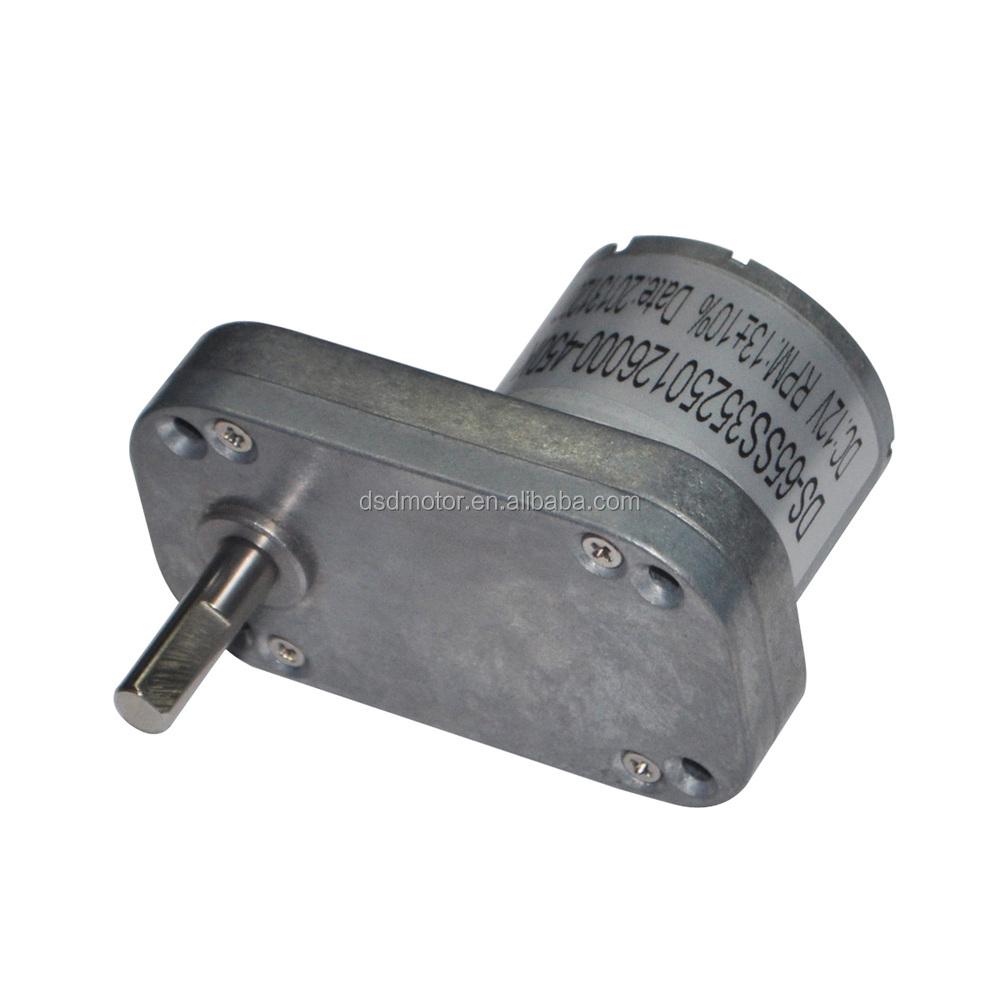 DSD-65SS3525 65mm 12 V 24 V DC Gear Motor for Water Purifier