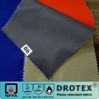 ASTM F1506 hot sale 100% cotton fireproof twill fabric for protective garment
