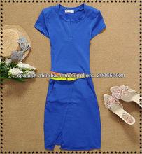 2013 señoras vestido de moda