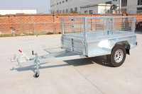 7*4 Single Axle Offroad Box Trailer