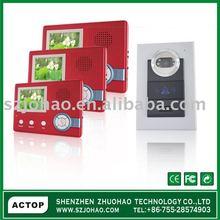 "3.5""TFT color display, can store pic, rainproof camera, wireless video doorphoneVDP-616+CAM-208"