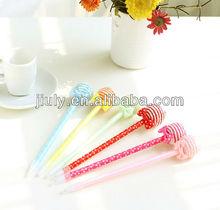 lollipop shaped ball pen for promotion