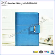 Top Grade Handmade Refillable Cheap PU Leather Pocket Notebook