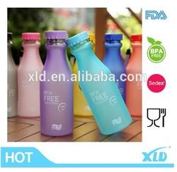 whosesale 500ML plastic drinking sport water bottle