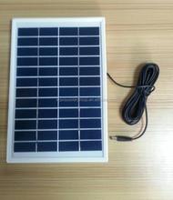2015 hot selling best quality 9v 12v 5w poly solar panel