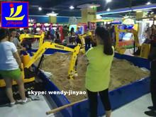 entertainment protection material made children excavator, amusement kids mini excavator, child electric small excavator