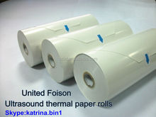 Video printing paper rolls f/ultrasound thermal paper rolls
